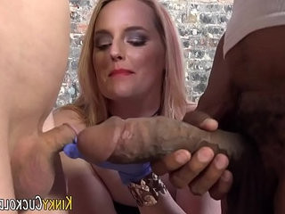Interracial domina jizzed