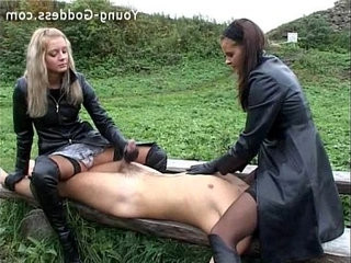 Outdoor Leather Humiliation