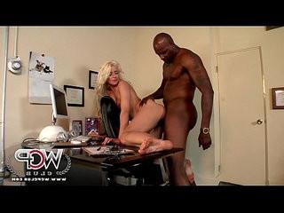 Wcpclub stunning blonde annika albright housewife with a big black man