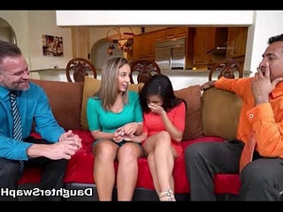 Two Dads Agree To Fuck Each Others Hot Teen Daughters