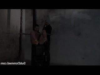 Toyed BDSM euro gagged by maledom