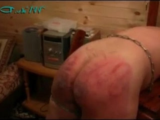A Good BDSM Spanking from Russia with huge ass Love